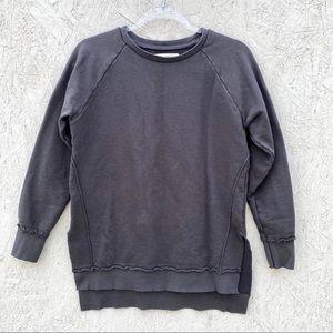Sol Angeles Anthropologie Distressed Sweatshirt S